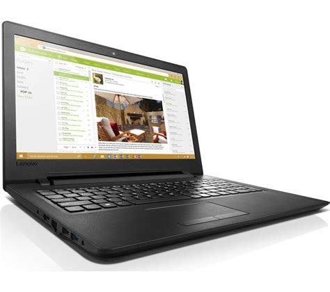 Laptop Lenovo Ideapad 110 lenovo ideapad 110 15 6 quot laptop black deals pc world