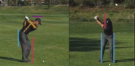 tiger woods iron swing video golf tuition and lessons in west london james