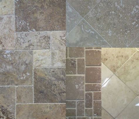 Types Of Backsplashes - travertine tile finishes honed tumbled polished and chiseled edge the toa blog about tile