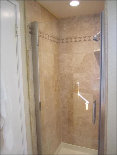 Colored Shower Stalls by Travertine Shower Stall Pool Room Bathroom Renovation