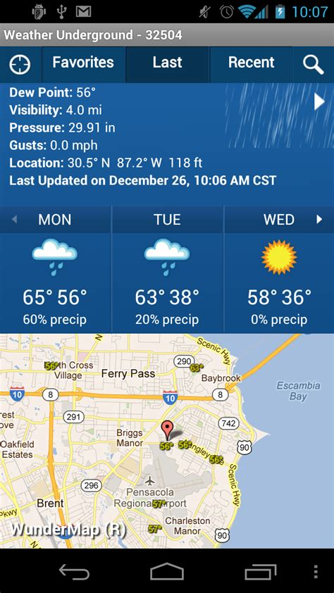 weather underground app for android weather underground for android android central