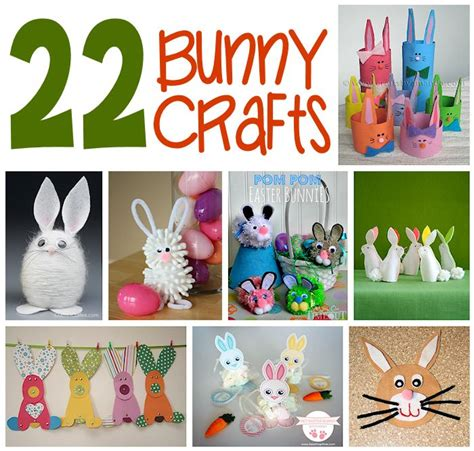 crafts for to do 22 easy bunny crafts about family crafts