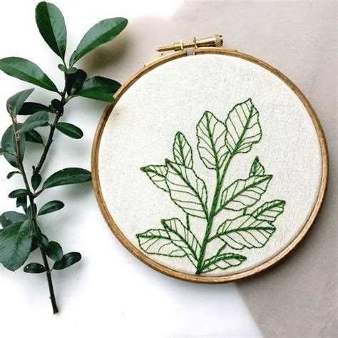 embroidery plants best 25 embroidery ideas on