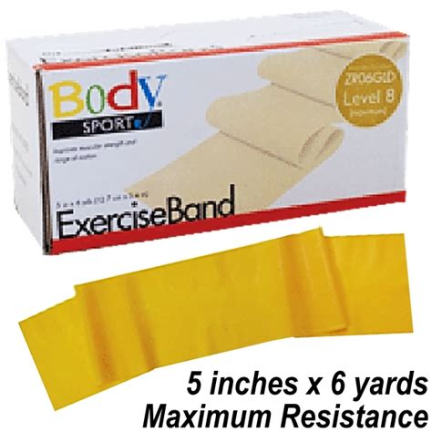 yds resistors sport exercise band gold maximum resistance