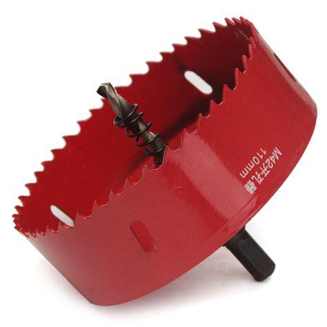 Holesaw Hss High Speed Steel 42 Mm B10 N0571 bi metal m42 hss saw cutter drill bit for aluminum iron pipe 110mm 200mm ebay