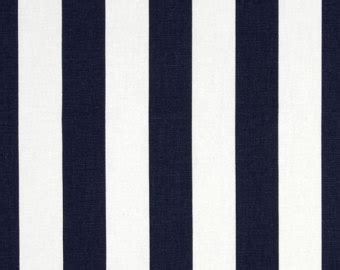 Almeira Square Linen Tassel Navy Blue black and white stripe tablecloth cotton