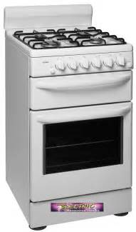 chef kitchen appliances gbc5266wlp chef gas upright stove the electric discounter