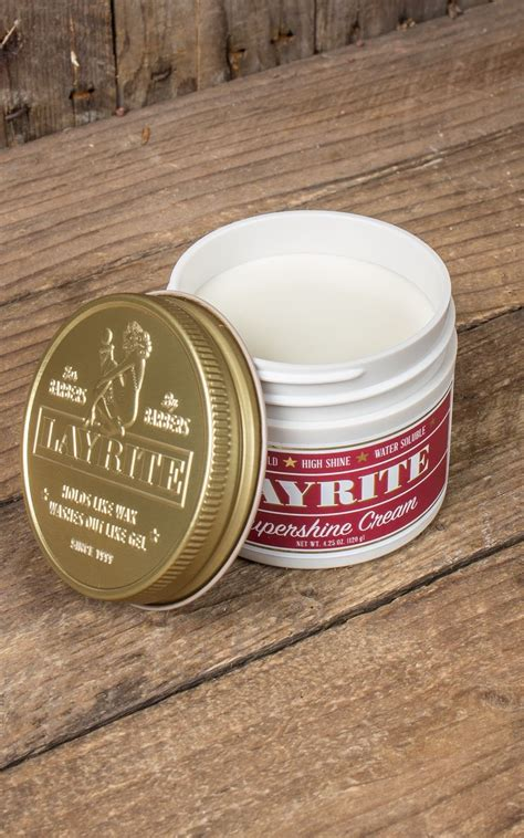 Pomade Vespa layrite quot deluxe pomade quot shine