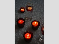 Diwali Decoration Ideas @ Liven Things Up Interior Design ... Rose Petals And Candles Ideas