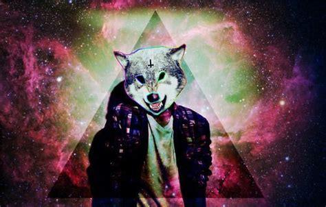 imagenes hipster illuminati triangle wolf boy galaxy cross thing pinterest