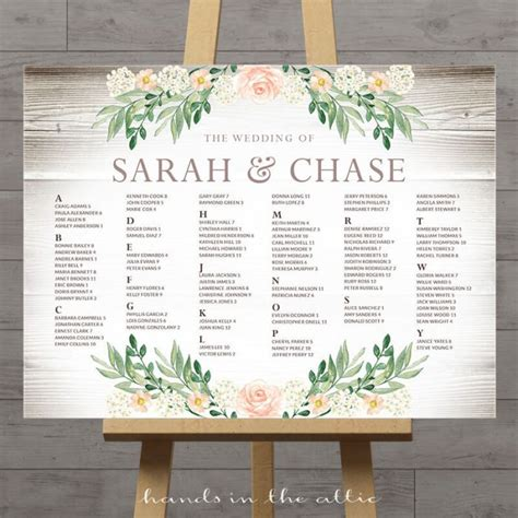 wedding table seating plan printable wedding seating charts floral rustic string