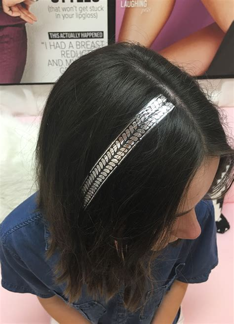 Flash Tattoo For Hair | head out for a night on the town with these hair tattoos