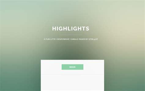 hugo install themes github schmanat hugo highlights theme a one page layout
