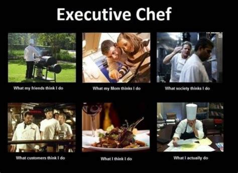 Meme Chef - cel s kitchen the quot what people see quot meme for chefs