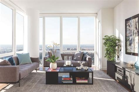 Living Room Property Management Rentals The Encore Luxury Manhattan Apartments For Rent