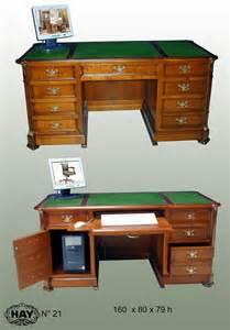 bureau pour ordinateur style directoire des meubles hay