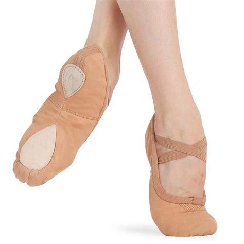 capezio slippers capezio pro canvas ballet shoe 2039