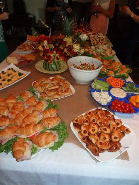 we should totally do cute finger food great bridal shower