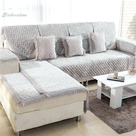 Slipcovers For Sectional With Chaise by Slipcover Sectional Sofa With Chaise Slipcovers For