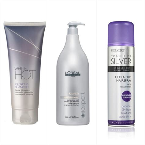 what is best hair cream for wirey gray hair best products for grey hair popsugar beauty uk