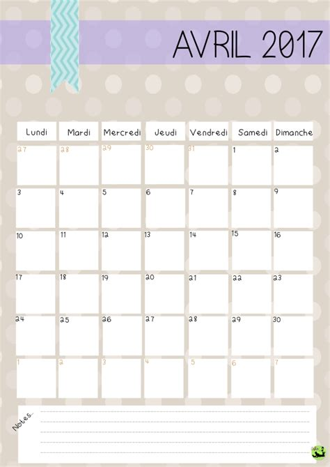 Date Vacances Avril 2017 Calendrier D Avril 2017