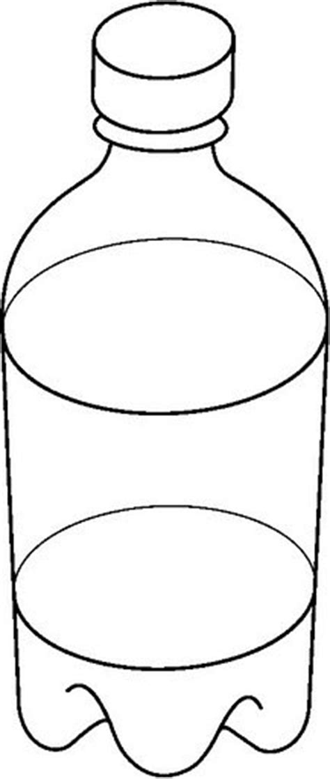 PLASTIC BOTTLE1 BWjpg sketch template