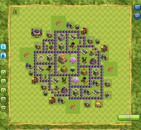 game mod coc terbaik formasi base town hall 6 10 clash of clans coc terbaik