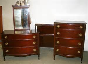 1940s bedroom furniture 050049 sheraton style mahogany bedroom set c 1940 lot