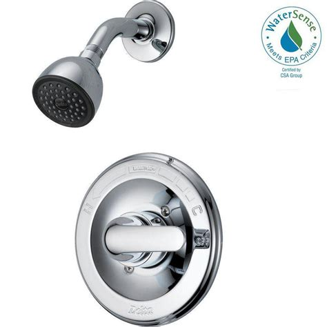 Delta Shower Faucets With Sprays by Delta Classic Single Handle 1 Spray Shower Only Faucet In