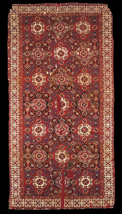 ottoman empire sts holbein carpet xv xvi centuries western anatolia