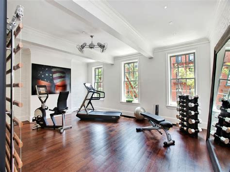 Home Gym Decorating Ideas Photos | 58 well equipped home gym design ideas digsdigs