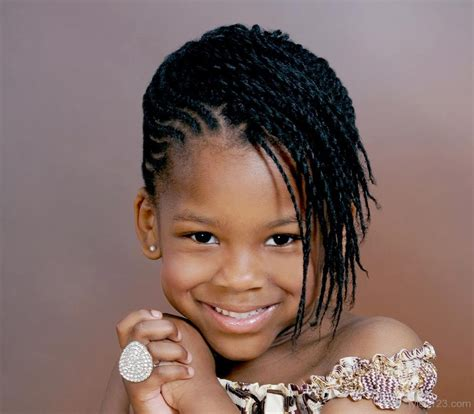 short braided style for babies black kids hairstyles