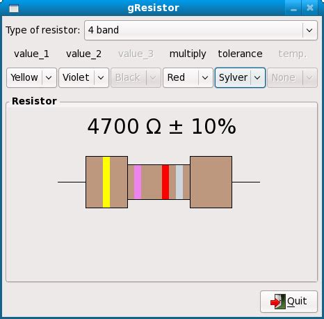resistor colour code discussion resistor colour code discussion 28 images resistor value identifier sourceforge net 4 7 k