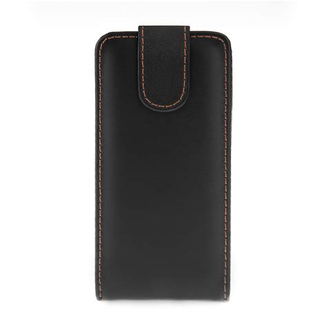 Leather Samsung Galaxy Alpha samsung galaxy alpha leather effect flip black