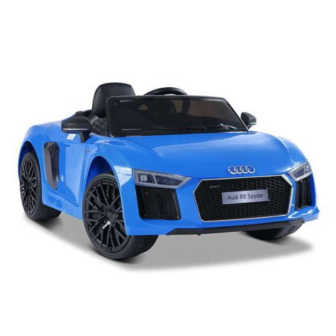Ride On Audi R8 by Licensed Audi R8 Kids Electric Ride On Car In Blue Buy Audi