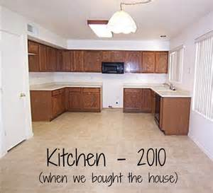 How To Refinish A Cabinet Mini Kitchen Remodel New Lighting Makes A World Of