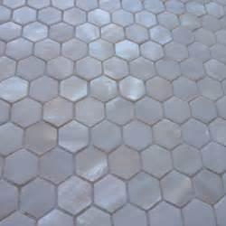 Discount Kitchen Backsplash Tile mini 15mm hexagon white mother of pearl shell mosaic tiles
