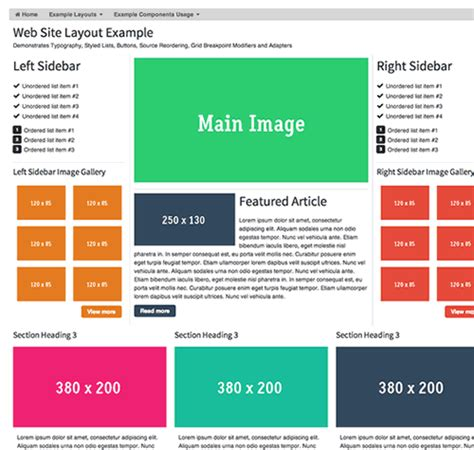 layout css html5 groundworkcss 2 a responsive html5 css javascript