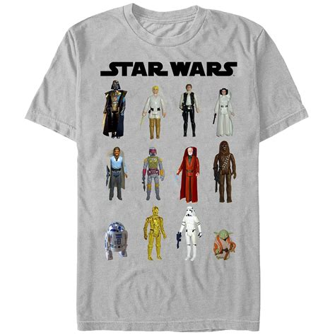 T Shirt Wars 05 wars figure shirts actionfiguresdaily