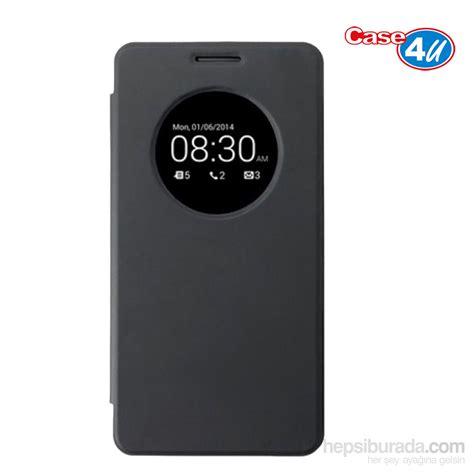 Cover Asus Zenfone 5 4u Asus Zenfone 5 Flip Cover Siyah Uyku Modlu Fiyat