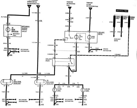 fog light switch wiring diagram third generation f