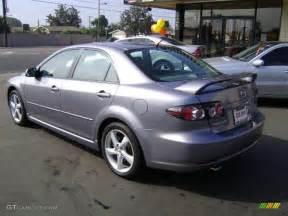 2007 titanium gray metallic mazda mazda6 i sport sedan