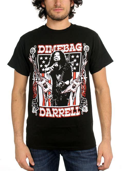 Guitar Dimebag Darrel Hoodie Water Merch dimebag darrell mens guitar flag t shirt in black