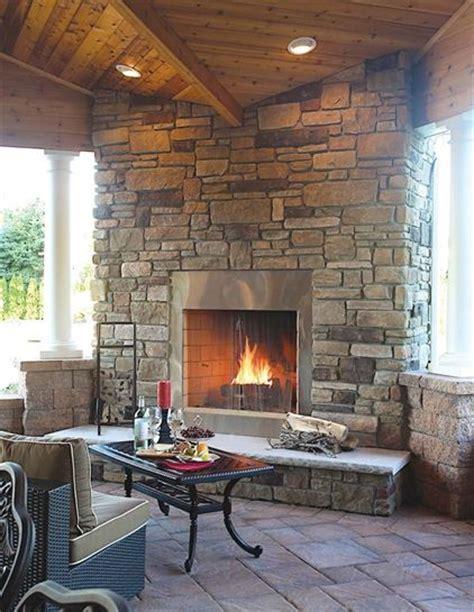 Cast Outdoor Fireplace Cast Veneer Ledgestone Breckenridge Mortared Ep