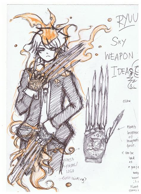 doodle how to make weapon khr oc doodles 3 kiryuu s weapon by bearythebear on