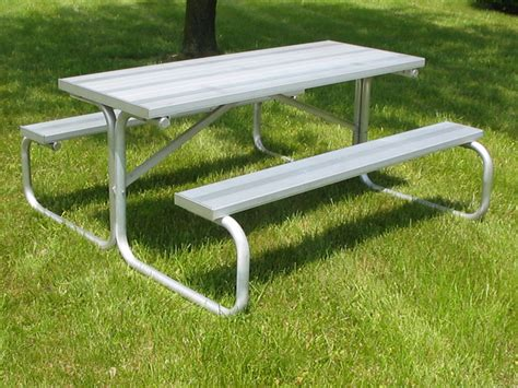 picnic table bench legs aluminum picnic table aluminum legs pt ap