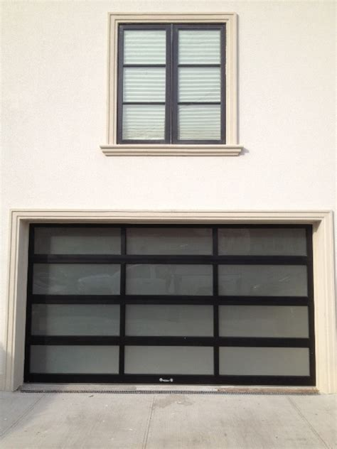 aluminum glass garage door aluminum glass garage doors are a modern trend