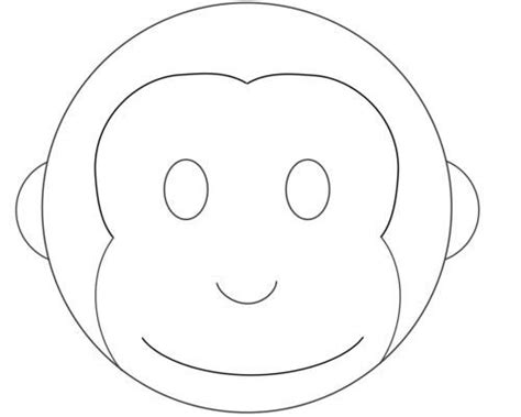 monkey birthday cake template 24 best ideas curious george images on