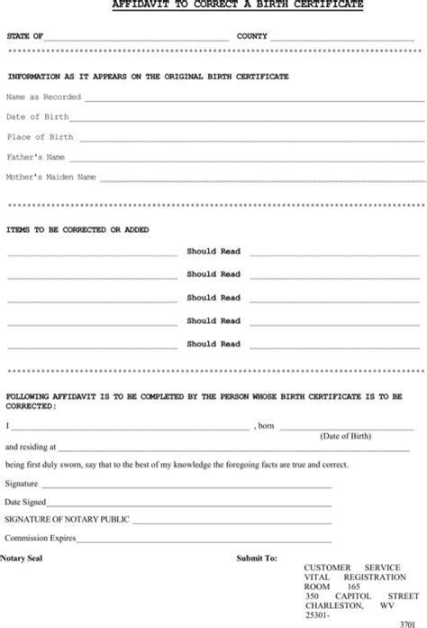 birth certificate affidavit format cic oopnp com download affidavit of birth for free formtemplate