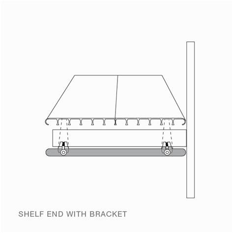Shelf End Brackets by Shelf Ends Rakks Store